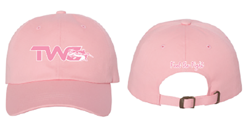Cotton Twill Pink/White Hat