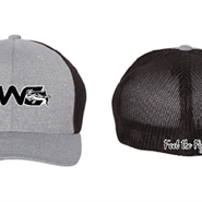 Flex Fit Gray/White/Black Hat